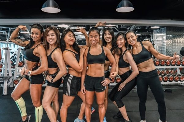 female personal trainer Singapore personal training