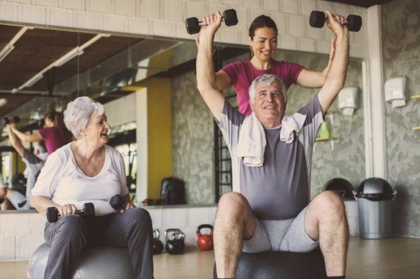 Senior Citizen Training Singapore Personal Training Physical Training Elderly MyFitnessComrade MFC