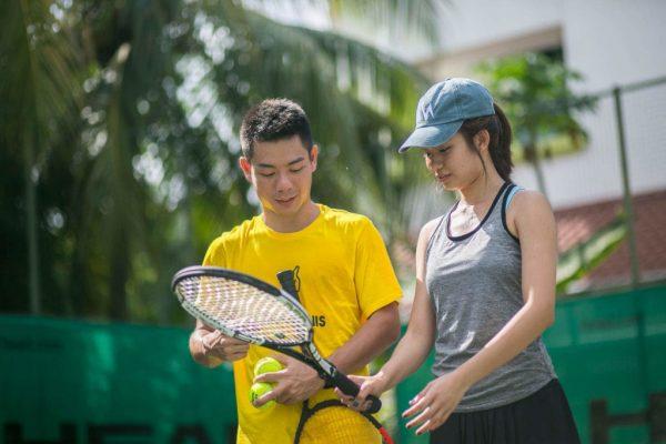 Tennis Coach Singapore Tennis Lessons MyFitnessComrade