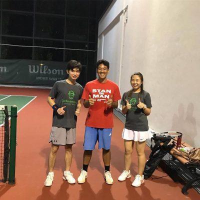 Testimonial Tennis Coach Singapore Tennis Lessons MyFitnessComrade