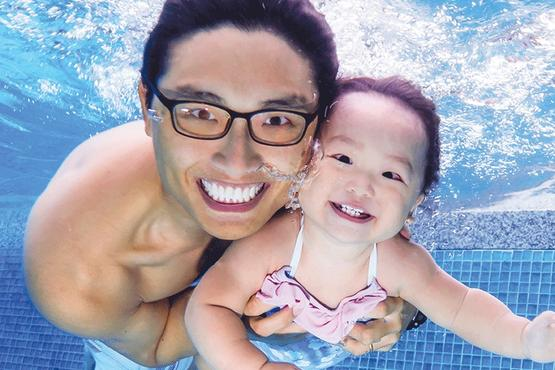 Baby Swimming Lessons Singapore Baby Swimming Coach MyFitnessComrade MFC